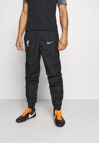 Nike Performance - LIVERPOOL PANT - Tracksuit bottoms - black/white - 0