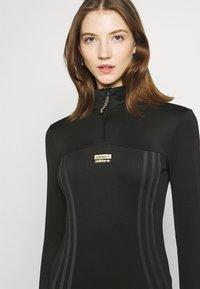 adidas Originals - DRESS R.Y.V. ORIGINALS - Vestido de tubo - black - 3