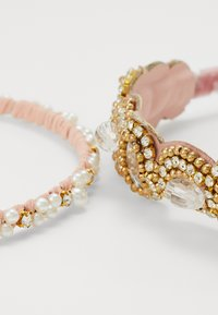 ONLY - ONLJULIA HAIRBAND SET - Hair Styling Accessory - gold colour - 2