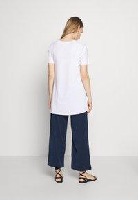 MAMALICIOUS - MLTILDE 7/8  PANTS - Kalhoty - dress blues - 2