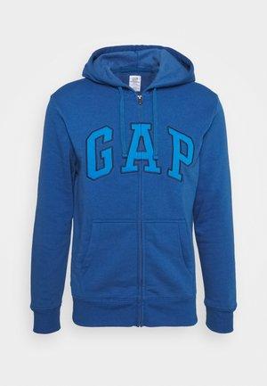 V HERITAGE LOGO - Zip-up sweatshirt - sailor blue