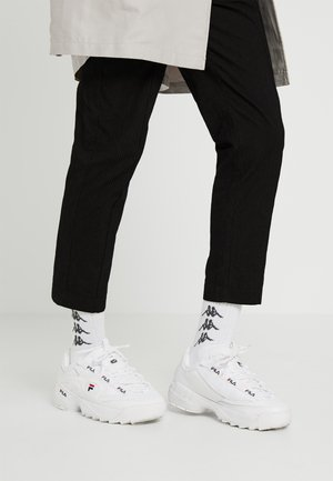 D-FORMATION - Sneakers - white/navy/red