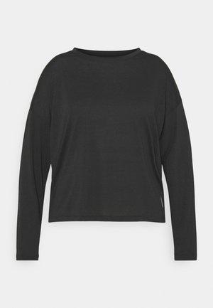 LONG SLEEVE - Sports shirt - night black