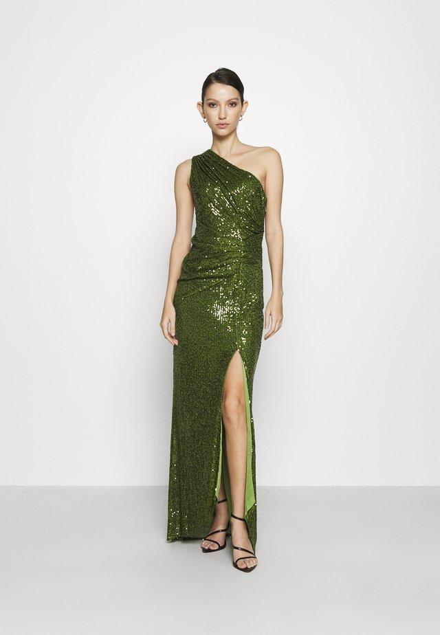 FERGIE MAXI - Festklänning - olive