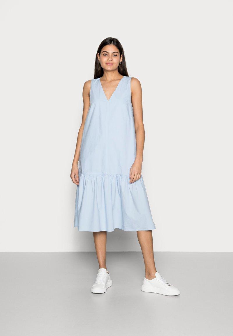 Marc O'Polo - MIDI DRESS - Day dress - light blue