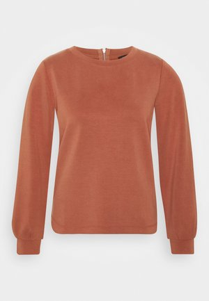 Sweatshirt - terracotta