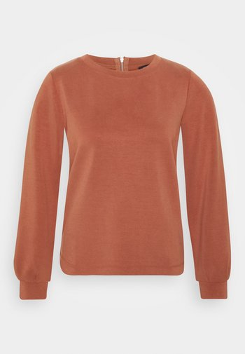 Sweatshirt - terracotta
