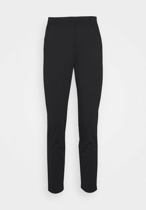 CONSTRUCTED PANTS - Trousers - deep black