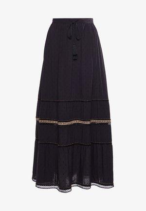 AMIRA  - Falda plisada - black