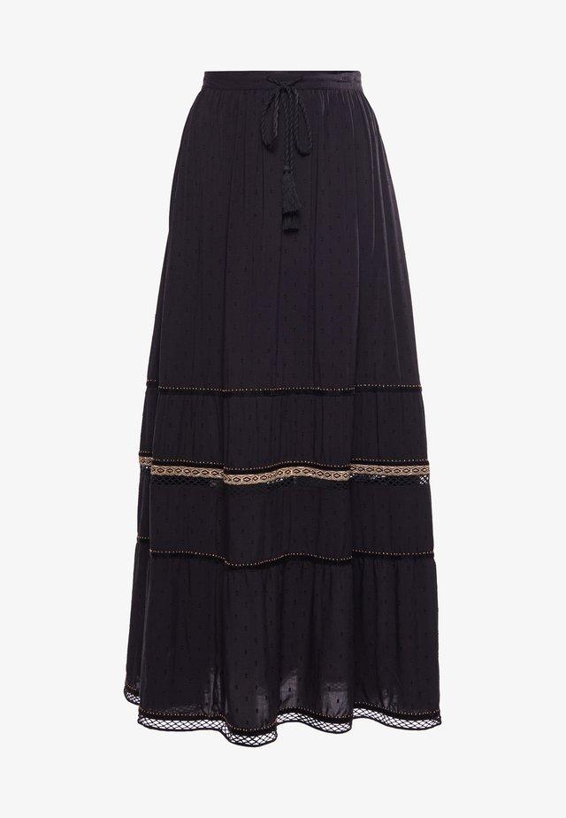 AMIRA  - Pleated skirt - black