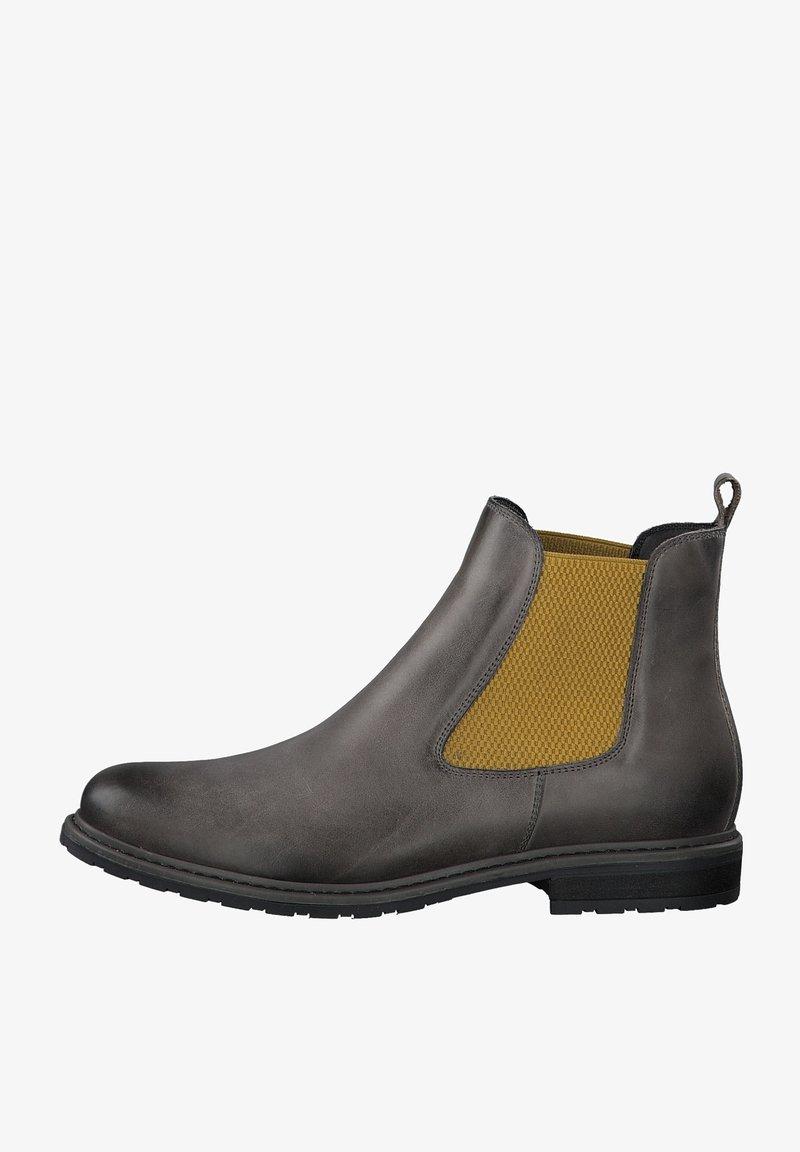Tamaris - Classic ankle boots - grey lea/saff.