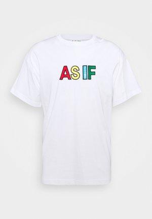 OFICIAL LOGO UNISEX  - T-shirt basic - white