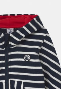 Petit Bateau - Zip-up hoodie - smoking/marshmallow - 2