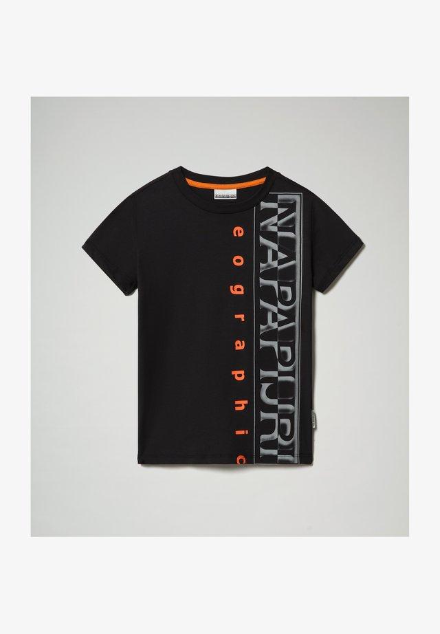 SADYR LOGO - T-shirt print - black