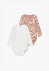 Lindex - FLOWERS AND CREAM 2 PACK - Body - dusty pink - 0