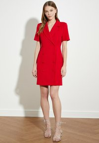Trendyol - PARENT - Shirt dress - red - 2