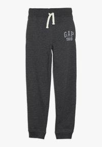 GAP - BOY SLIM BASIC  - Pantaloni sportivi - new charcoal grey - 0