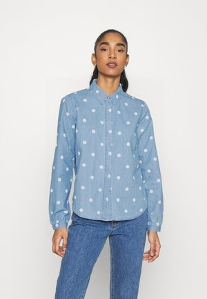 VIFANZI SHIRT - Blouse - light blue denim