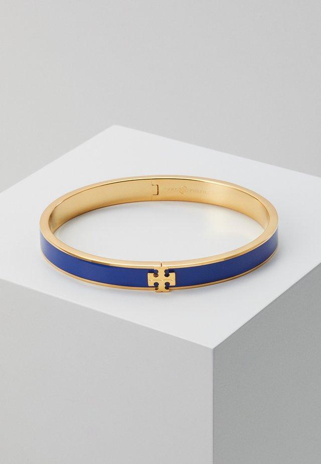 KIRA CROSS BRACELET - Náramek - tory gold-coloured/ nautical blue