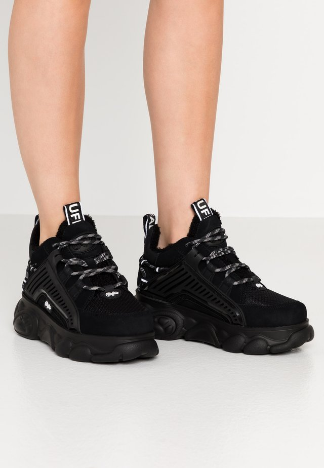HIKE - Sneakers laag - black