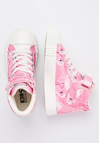 British Knights - DEE - High-top trainers - pink flamingo - 1