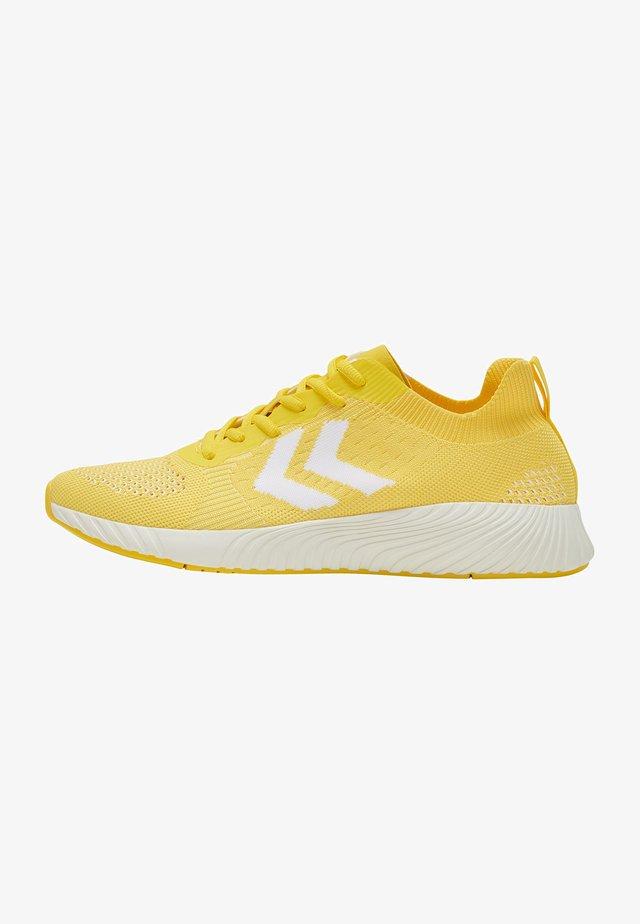Sneakersy niskie - super lemon
