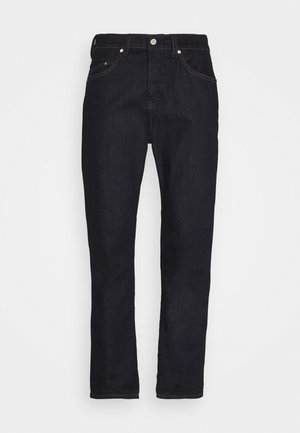 5-POCKET SLIM FIT TAPERED - Zúžené džíny - multi/blackish dark blue raw
