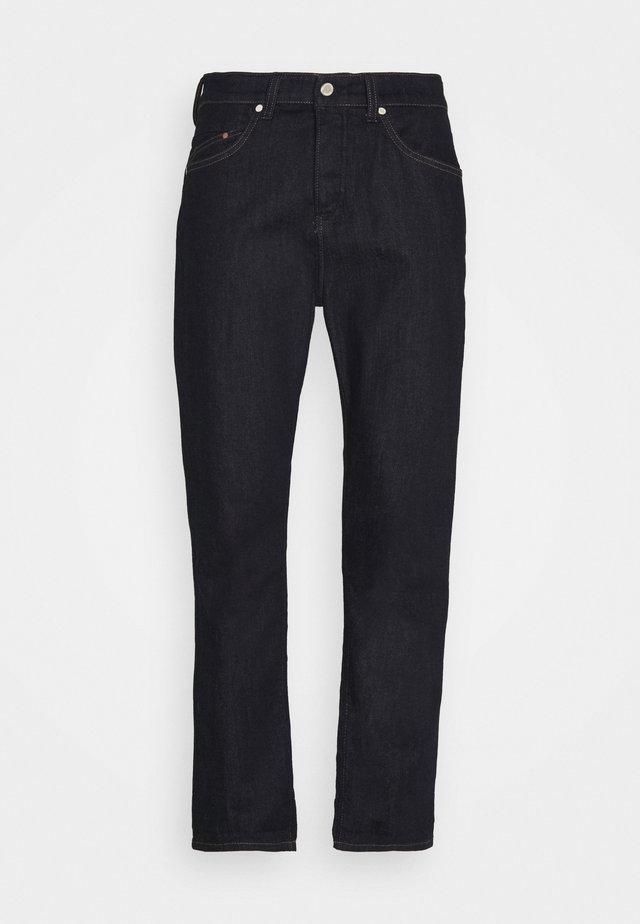 5-POCKET SLIM FIT TAPERED - Jeans Tapered Fit - multi/blackish dark blue raw