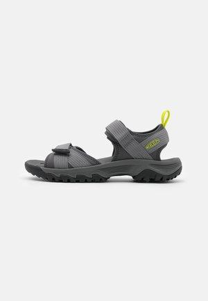 TARGHEE III OPEN TOE - Walking sandals - steel grey/evening primrose