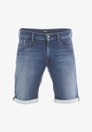 BRAD - Denim shorts - dark blue