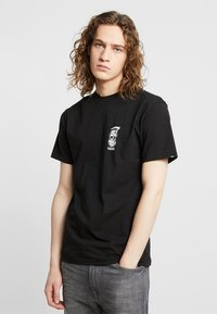 Vans - MOONSHINE  - T-shirt med print - black - 0