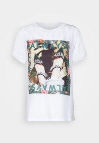 Rich & Royal - Print T-shirt - white - 0