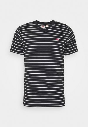 VNECK - T-shirt z nadrukiem - jet black