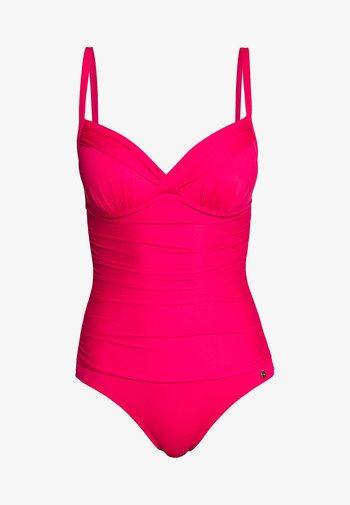 SIENNA  SWIMSUIT - Plavky - red