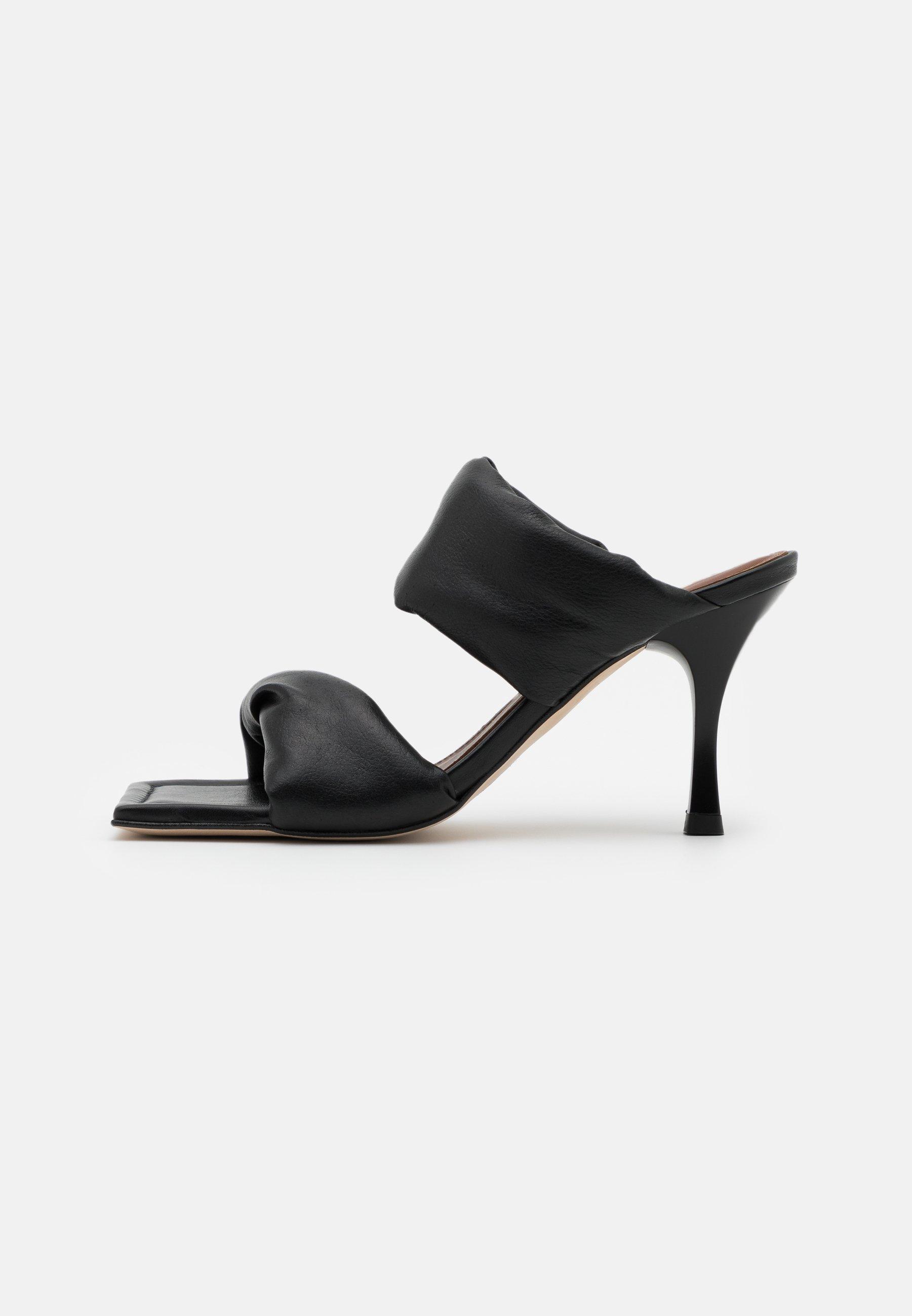 Women TWIST STRAP - Heeled mules