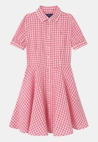 Polo Ralph Lauren - Košilové šaty - pink/white - 0