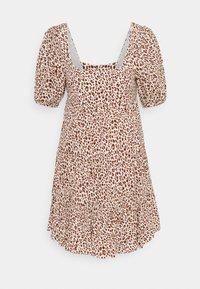 Forever New - OLYMPIA BABYDOLL MINI DRESS - Robe d'été - brown - 6