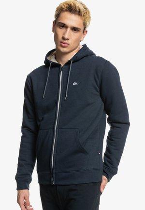 ESSENTIALS SHERPA - Zip-up sweatshirt - navy blazer