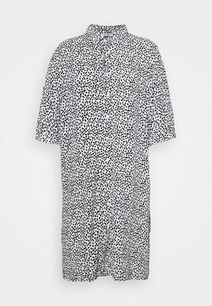 Robe chemise - white/black