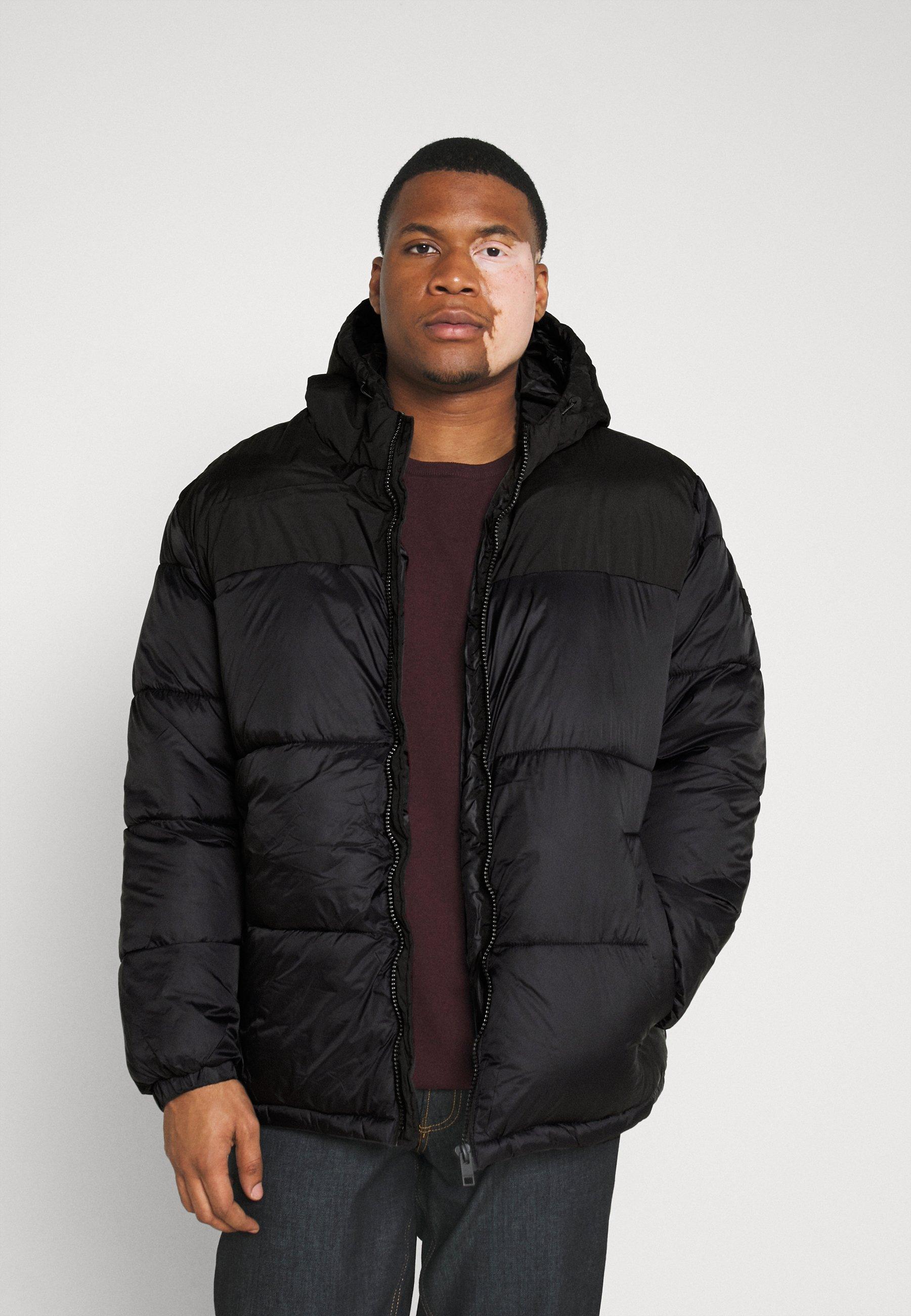 Men JJDREW PUFFER HOOD - Winter jacket