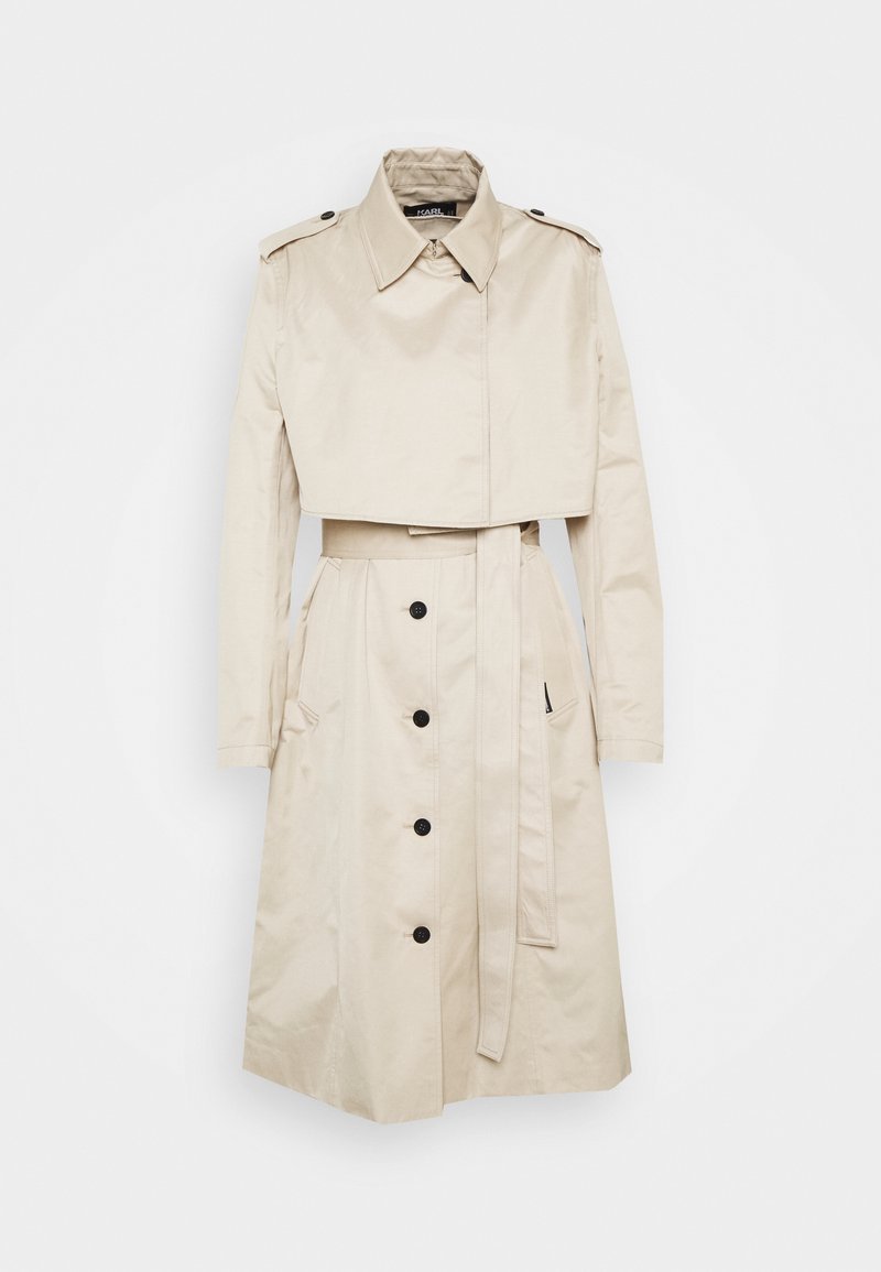 KARL LAGERFELD - TRANSFORMER 2-IN-1 - Trenchcoat - warm sand