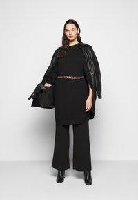 Kaffe Curve - KCBELL - Jumper dress - black deep - 1