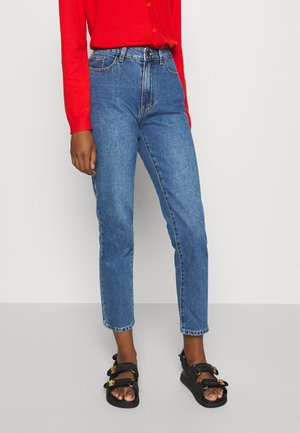 OBJNORA NON STRETCH - Jeansy Relaxed Fit - medium blue denim