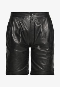 STUDIO ID - CAROLINE SHORTS - Leather trousers - black - 3