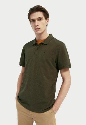Polo shirt - military melange