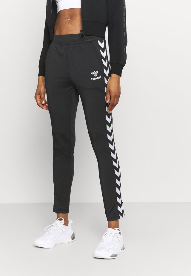 NELLY TAPERED PANTS - Verryttelyhousut - black