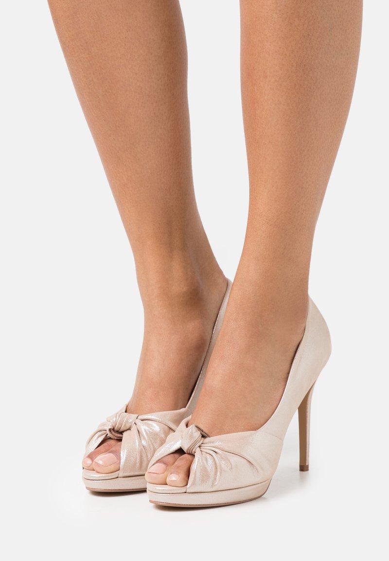 Lulipa London - LILAS - Peep toes - soft metallic