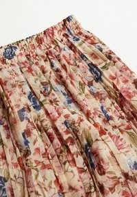 Mango - FALDA PLISAD - Maxi skirt - crudo - 6