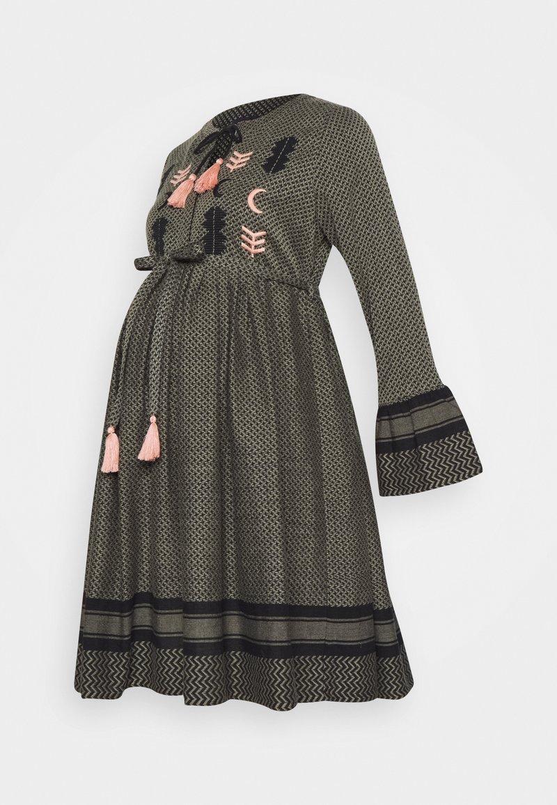 Mara Mea - GRECIAN DREAM - Sukienka letnia - olive/black