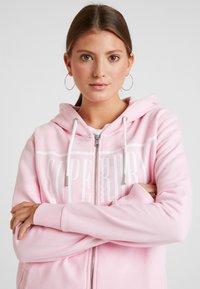 Superdry - GELSEY ZIPHOOD - Zip-up hoodie - powder pink - 4